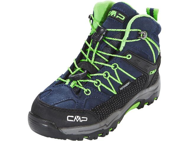 CMP Campagnolo Rigel Mid WP Trekking Shoes Kinder black blue-gecko